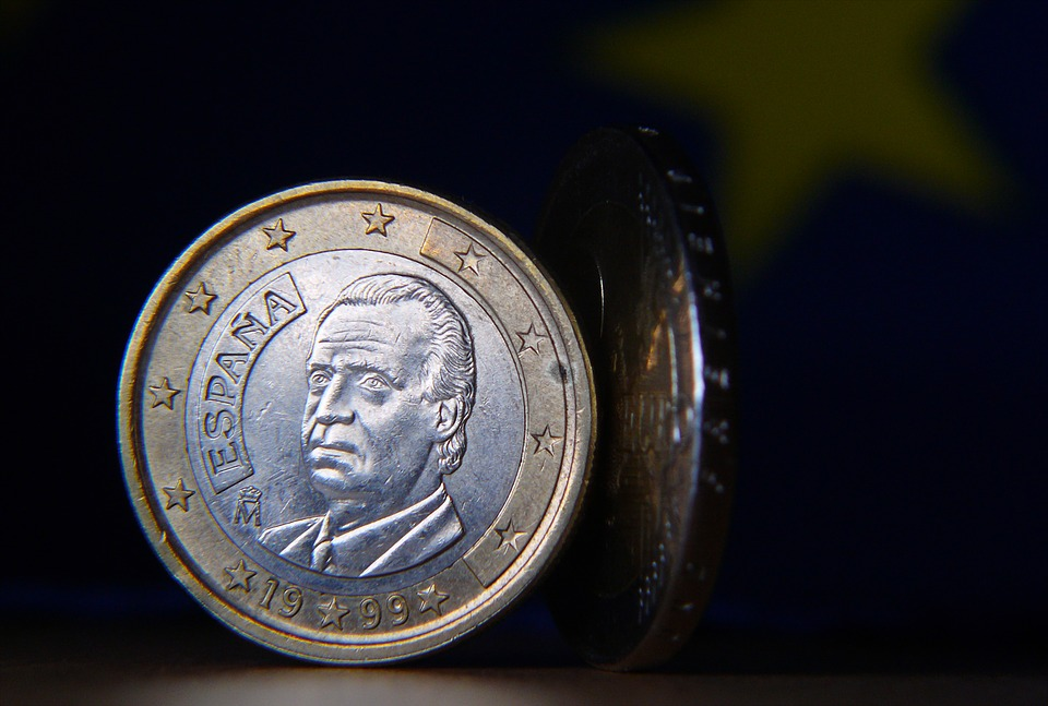 španělská mince