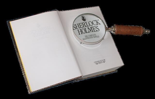 detektivní kniha