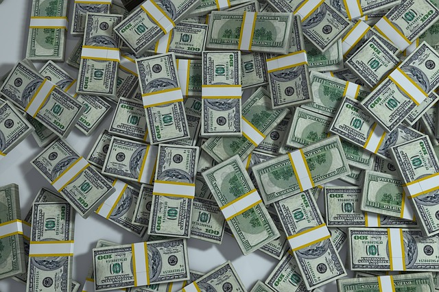 balíčky bankovek
