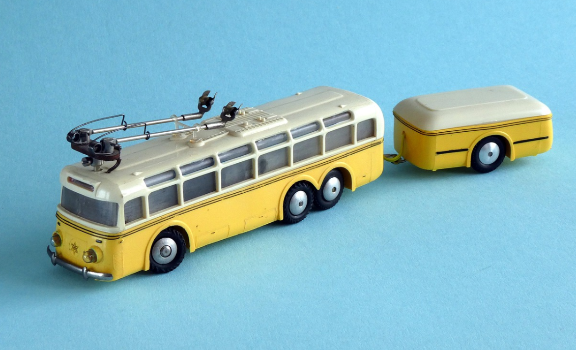vozík za autobus